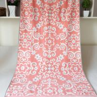 China Customized Elegant Jacquard  Beach Towels wholesale