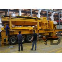 China Hydraulic Huge Stone Mobile Crusher Stationr With Tyres ISO Certification wholesale