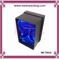 China 2 wineglasses carrier box/ goblet packaging cardboard box ME-TB022 wholesale