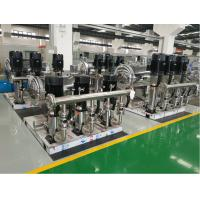 China stainless steel water booster pump station for high rise building wholesale