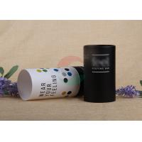 Quality Eco - Friendly Food Packing Paper Tube / Paper Cylinder Containers Customized Size for sale