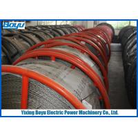 China 30mm 540kN T29 Anti twisting Braided Galvanized Steel Wire Rope Line Stringing Engineering wholesale