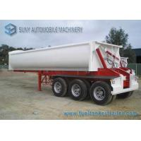 China 24 Cubic ADR Standards 3 Axles Side Tipper Semi Trailer 40 T wholesale