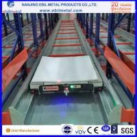 Radio Shuttle Racking Q345 raw material for cold warehouse storage solutions Manufactures