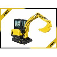 China 2.2t Water Cooling System Caterpillar Hydraulic Excavator 2660 Mm Dumping Height wholesale