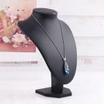 China Fashion Acrylic Jewelry Display Set Matt Black Jewelry Stand Wholesale Jewelry Display RJW wholesale