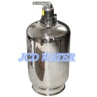 China Stainless Steel Automatic Commercial Water Softener For Chemical Industry wholesale