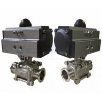 """China Stainless Steel Pneumatic On Off Valve / 3 Way Pneumatic Control Valve 1/2 To 3"""" wholesale"""
