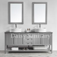 Buy cheap Daisy 72 inch Bathroom Vanity large bathroom cabinet with Large storage space from wholesalers