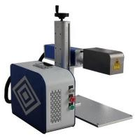 China Handheld 3d Laser Marking Machine Small Volume No Consumables 30 Watts wholesale