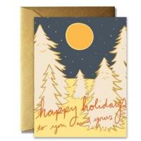 China Craft Paper Greeting Cards , Recycled Personalized Holiday Greeting Cards wholesale