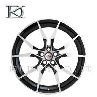 High Profile Forged Racing Alloy Wheels 20 Inch / Black Chrome Wheels For Vehicle Manufactures