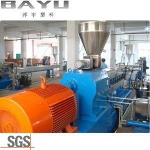 China Polyamide 66 Flakes Granulator Parallel Twin Screw Extruder Machine wholesale