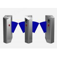 China Intelligent Retractable Flap Barrier Gate Wheelchair Or Luggage Turnstile wholesale