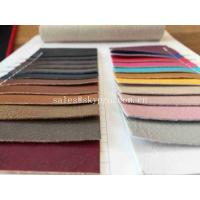 China Wear Resistance 1 mm Thick Cold Resistant Microfiber Leather Car Seat Cover Semi PU wholesale