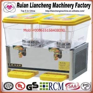 China 110/220V 50/60Hz spray or stirring European or American plug soft drink filling machine wholesale