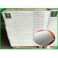 China Recycled Pulp Uncoated Woodfree Paper 60gsm 70gsm 80gsm For Offset Printing wholesale