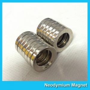 China Multipole Radial Magnetization N45 Neodymium Magnets Ring Shaped for Speaker / Sensor / Buoys wholesale