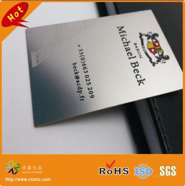 stainless steel metal card 3
