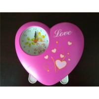 China heart-shaped alarm clock wholesale