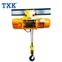 TXK MD Type Electric Wire Rope Hoist 0.5 Ton-16 Ton With Control Pendent Workshop Usage