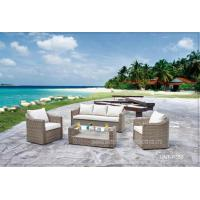 Outdoor Garden Patio Seating Sets PE Rattan / Wicker Deep Seating Furniture Manufactures