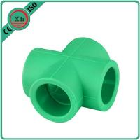 China Eco Friendly PPR Plastic Fittings Ppr Cross Strong Resistance To Acids wholesale