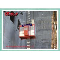 Quality High Speed 0-96 m/Min Passenger Material Construction Site Lift With VFC Control for sale
