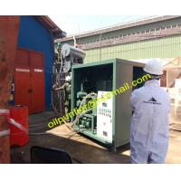 China Used Transformer Oil Purifier Machine,Oil Purification System, Oil Reclamation Plant wholesale