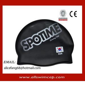 China High quality Wrinkle free Junior silicone swim caps wholesale