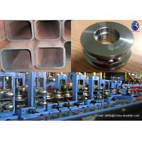 Welded Pipe Manufacturing Tube Mill Roller With 57 - 63 Hrc Hardness