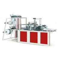 China Four Lines Plastic Poly Bag Making Machine Cold Cutting For Flat Opening Bags wholesale