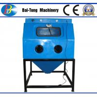 China Jewelry Surface Treatment Wet Sandblasting Cabinet Φ13mm*23mm Blasting Hose Dia wholesale