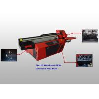 China Multicolor Flatbed UV Glass Printer With Ricoh Industrial Print Head wholesale