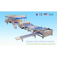 China 1200-2200mm Single-Face Corrugated Paperboard Making Machine For Board Production Line wholesale
