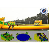 China Water Proof 30m Water Park Equipment With Fabric Reinforced 0.9mm PVC Tarpaulin on sale