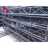 China Black Color 400mm*400mm Plated Square Aluminum Bolt Truss for Auto Show wholesale