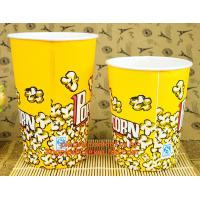 China Good Quality New Design Cheap 16Oz Popcorn, 8oz/12oz/16oz/20oz disposable hot drink coffee paper cup with lid and sleeve on sale