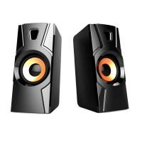 China Computer 2.0 USB PC speakers good bass mini active speaker with nice sound quality on sale