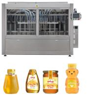 China Piston Glass Jar Filling Equipment Line Digital Display Volume Setting wholesale