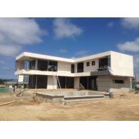 Buy cheap 2 Story , flat roof , Prefabricated light steel house , Light Steel Frame Houses from wholesalers