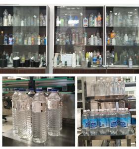 China Automatic Glue Labeling Machine , Hot Melt Glue Round Bottle Label Sticking Machine wholesale
