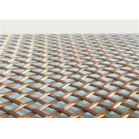 China Architectural  Woven Decorative Wire Mesh For Building Facades Claddings wholesale