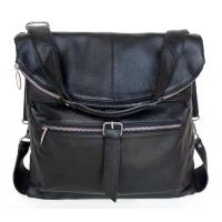 China Lady Style Genuine Soft Leather 3 Uses Messenger Bag Backpack #2034 on sale