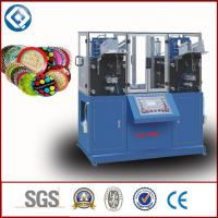 China Disposable Circular Paperboard / Paper Plate Machine With PLC Control on sale