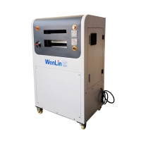 China High Quality Best price plastic IC ID card hot press laminator PVC fusing machine China supplier on sale on sale