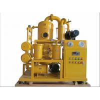 China ZYD-PLC PLC Full Automatic Double Stage High Vacuum Transformer Oil Purifier wholesale