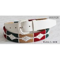 China Fashion Women ' S Belts For Dresses With Assorted Color Cords Around Belt By Handwork wholesale