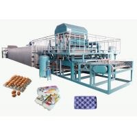 China Recycled Paper Pulp Molding Machine For Producing Egg Tray 4000pcs/H on sale