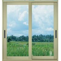 1.0mm - 1.2mm profile thickness electrostatic powder coated aluminum sliding glass doors Manufactures
